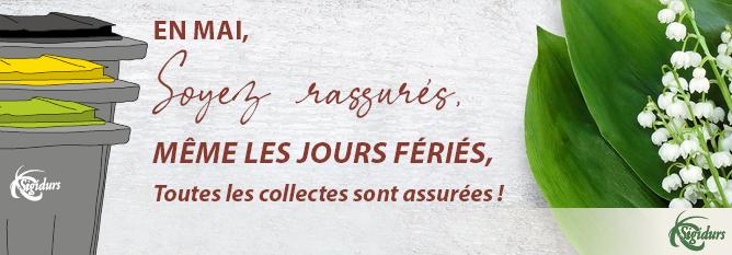 Site web bandeau actu_collecte jour férié 2021